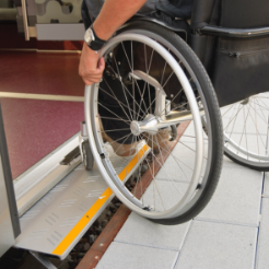 Better accessibility for wheelchairs